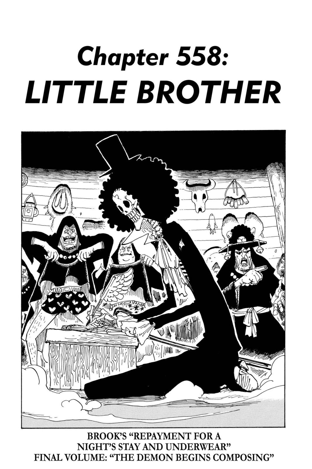 One Piece, Chapter 558 image 001