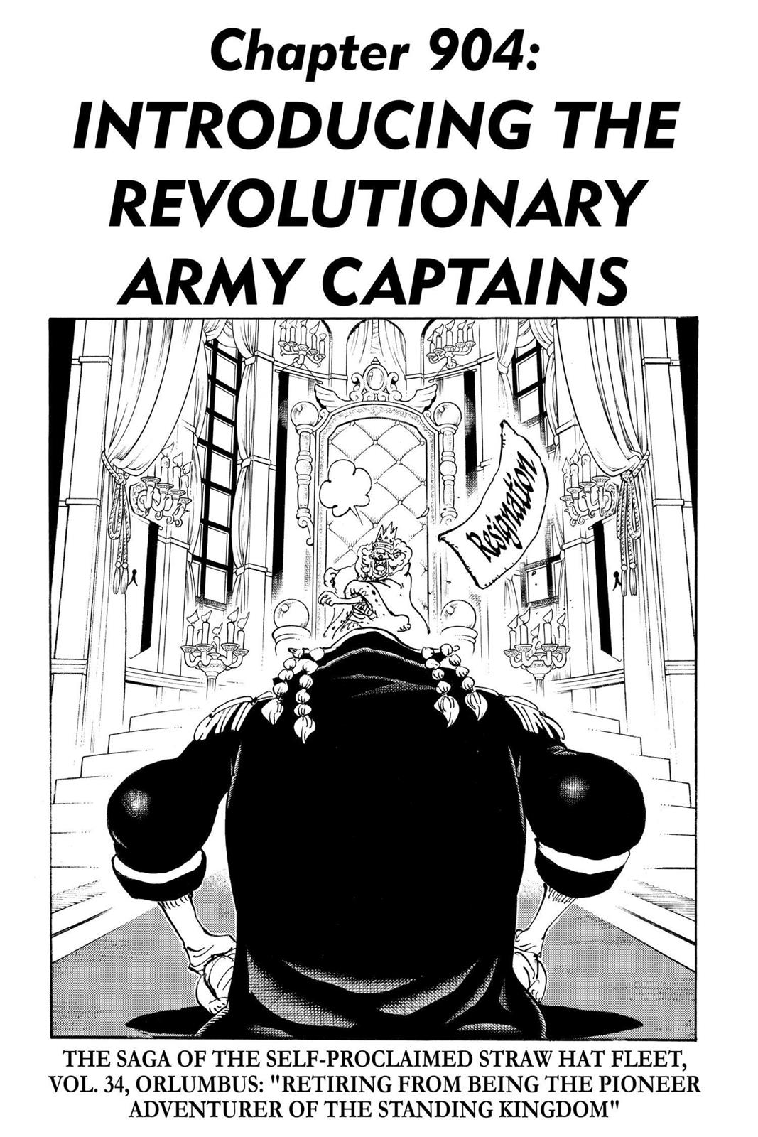 One Piece, Chapter 904 image 001