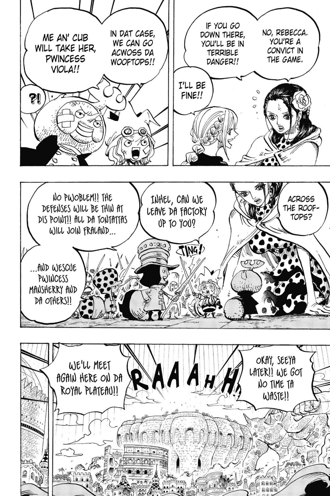 One Piece, Chapter 750 image 011