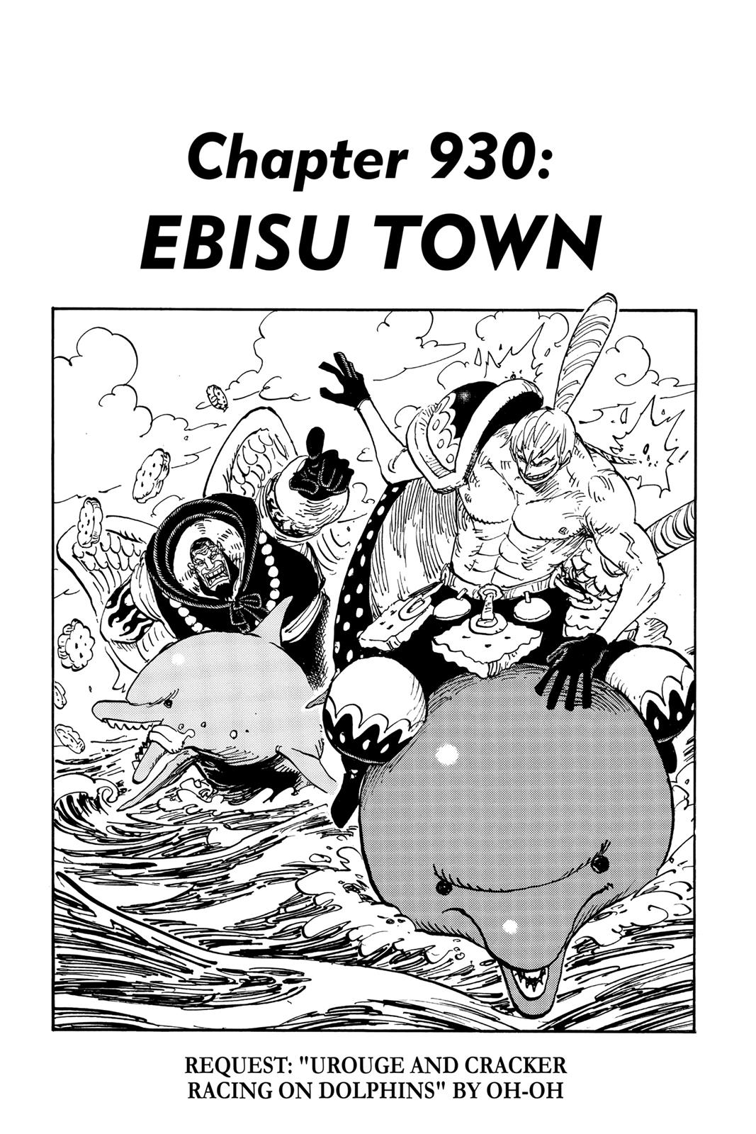 One Piece, Chapter 930 image 001