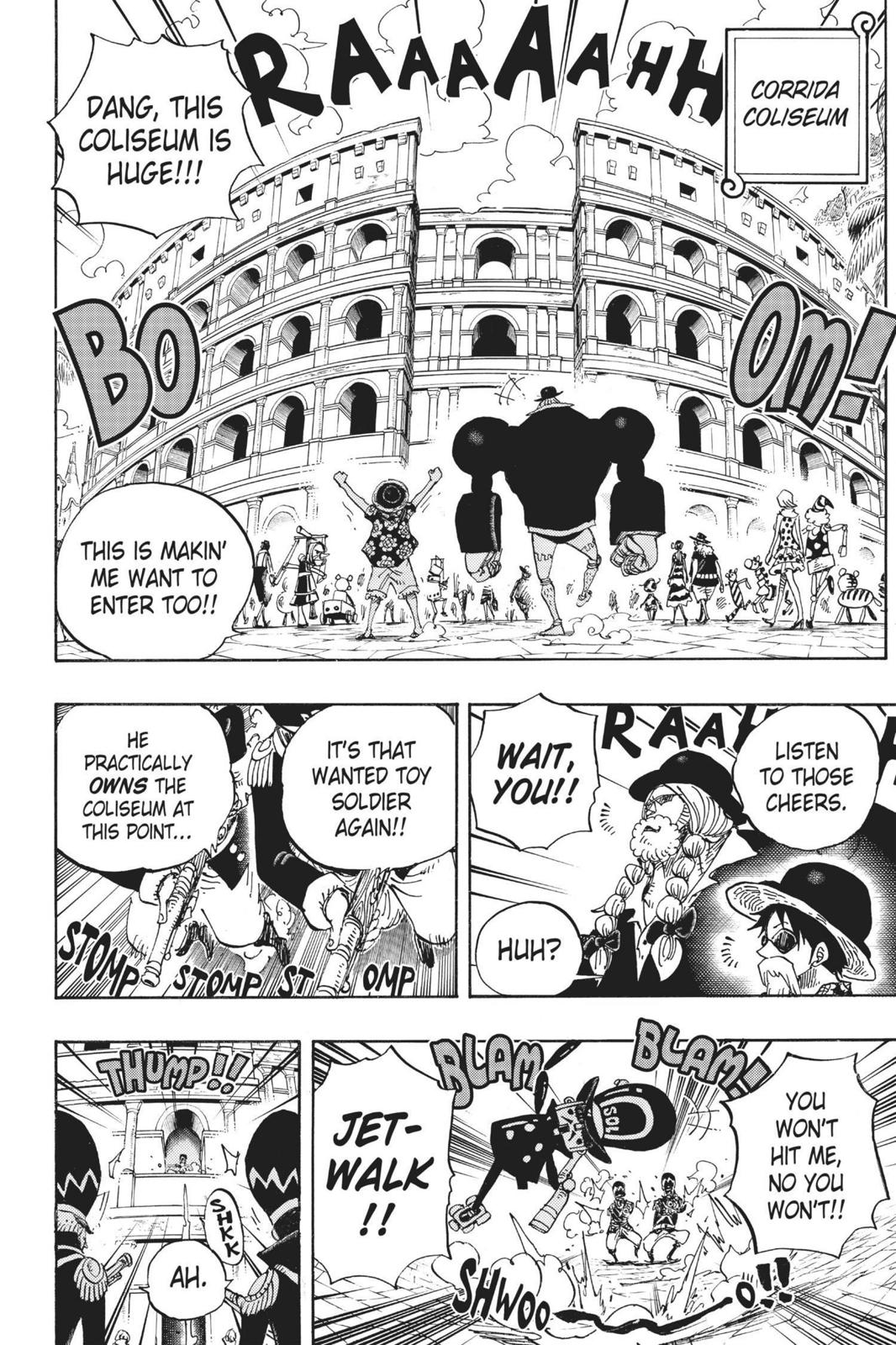One Piece, Chapter 703 image 012