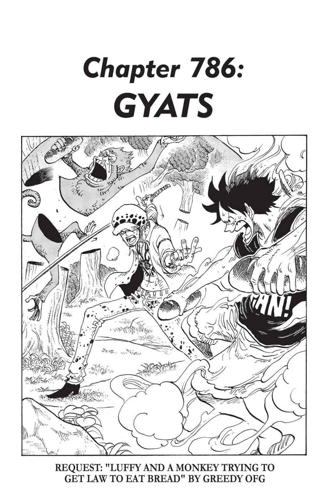 One Piece, Chapter 786 image 007