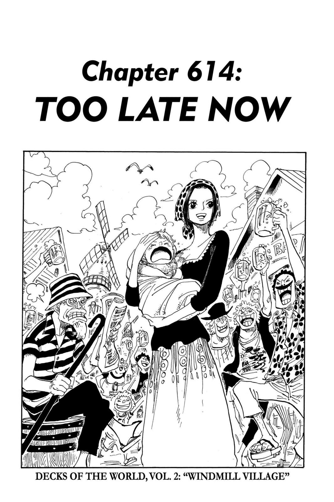 One Piece, Chapter 614 image 001