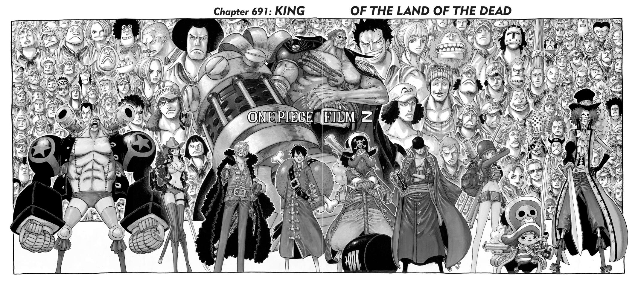 One Piece, Chapter 691 image 007