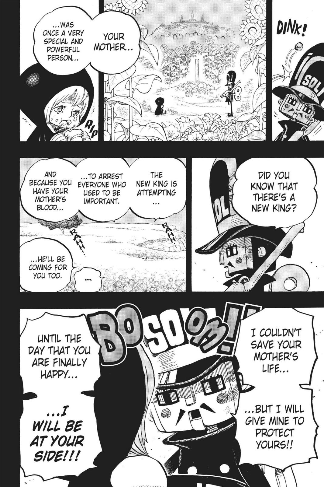 One Piece, Chapter 721 image 010