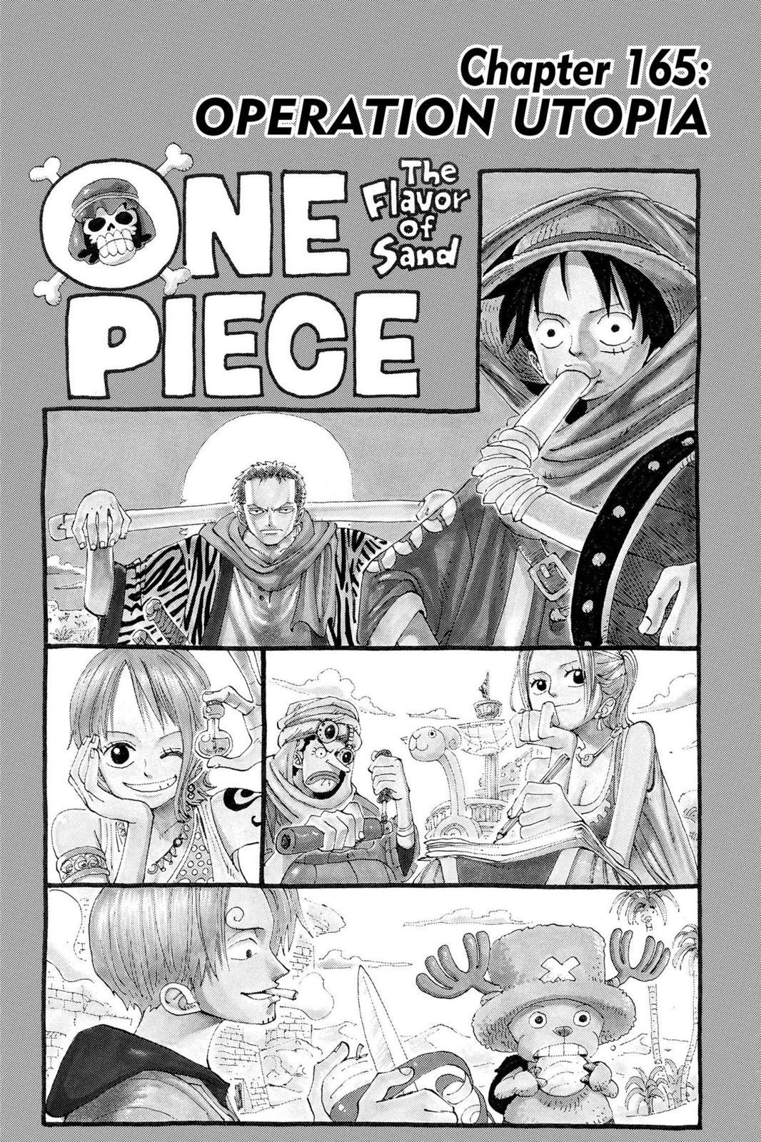 One Piece, Chapter 165 image 001