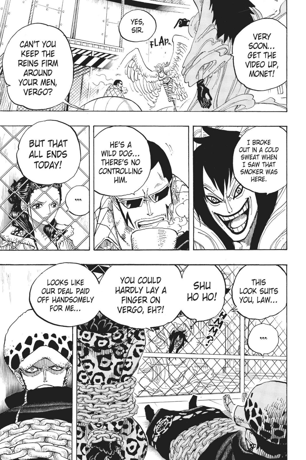 One Piece, Chapter 675 image 007