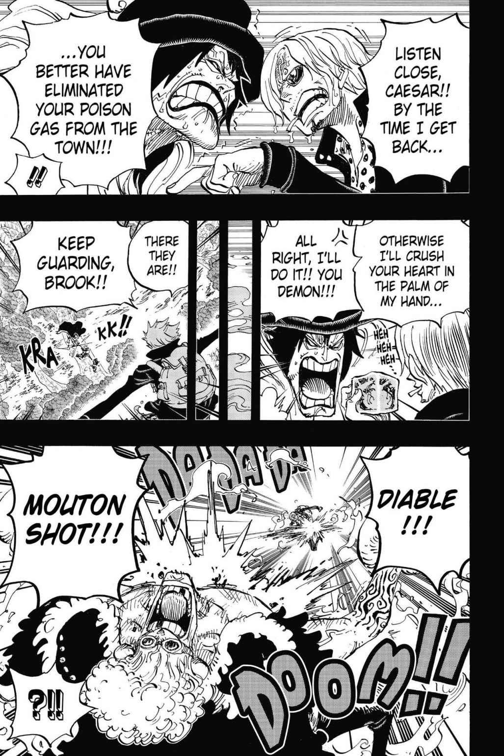 One Piece, Chapter 811 image 005