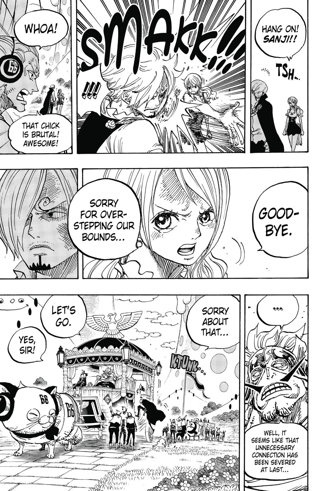 One Piece, Chapter 844 image 012