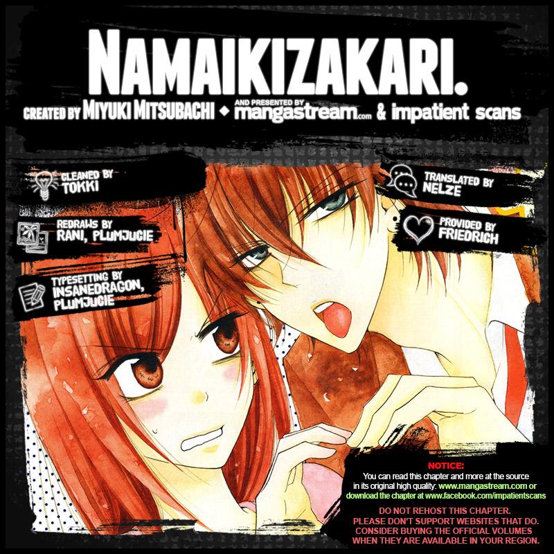Namaiki Zakari, Chapter 80 image 002