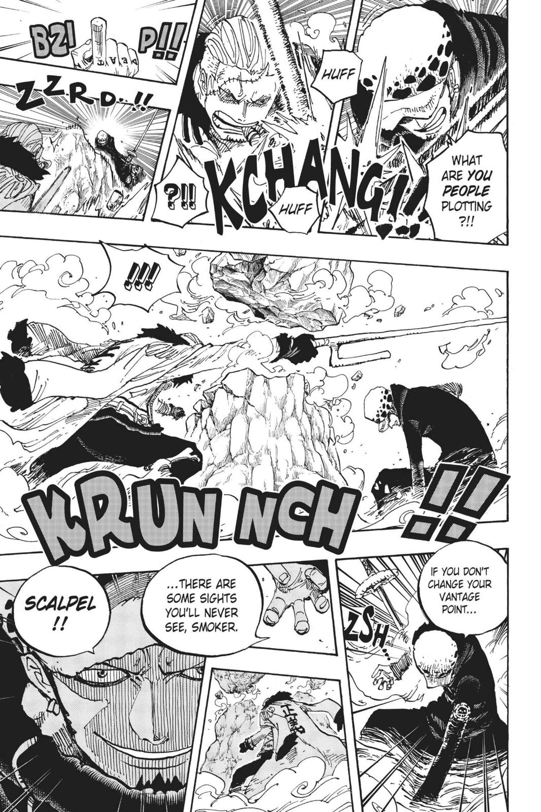 One Piece, Chapter 662 image 017