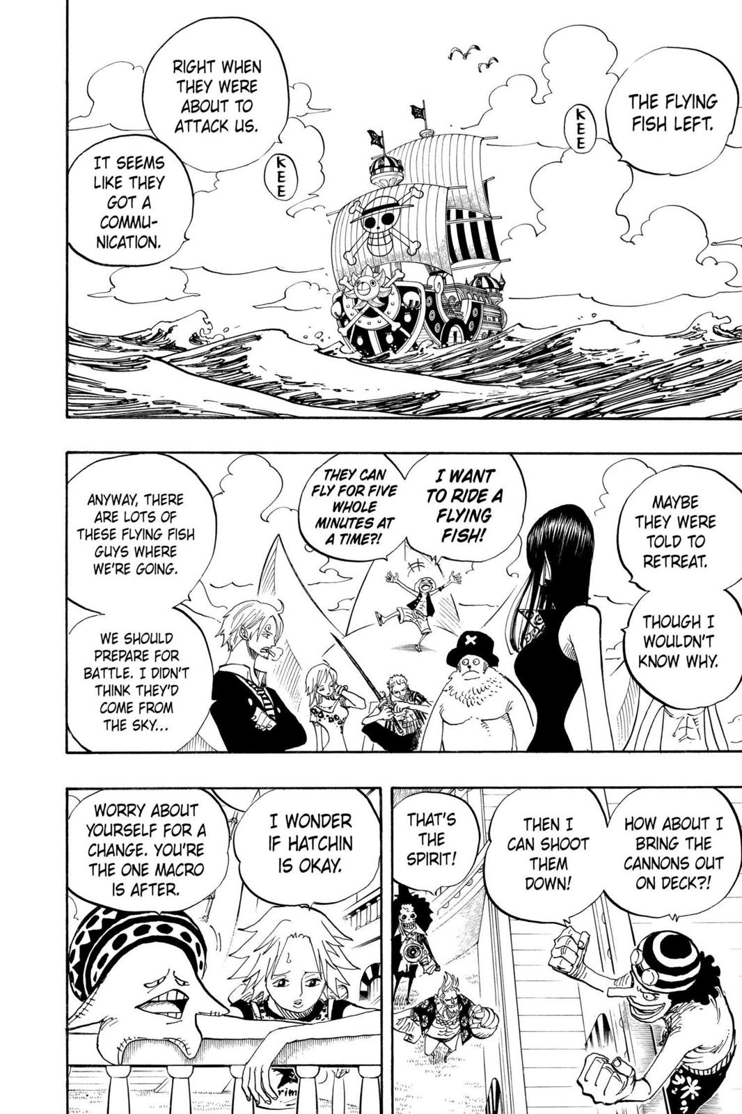 One Piece, Chapter 492 image 008