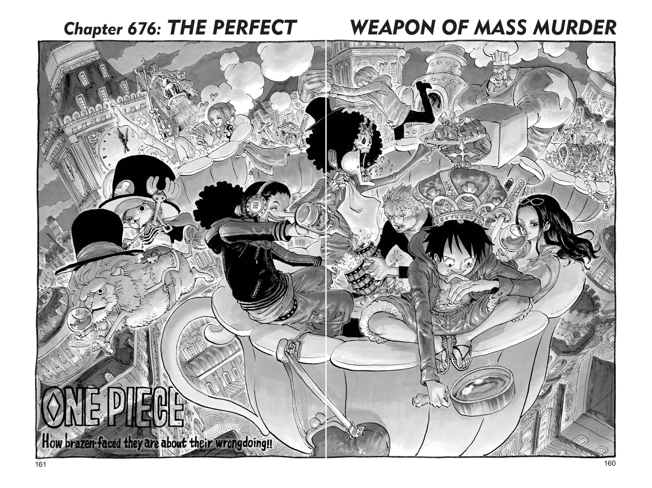 One Piece, Chapter 676 image 001