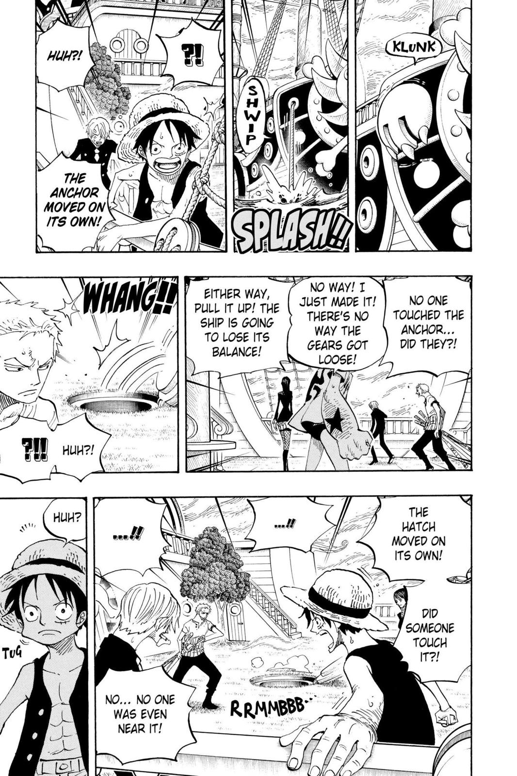One Piece, Chapter 444 image 009