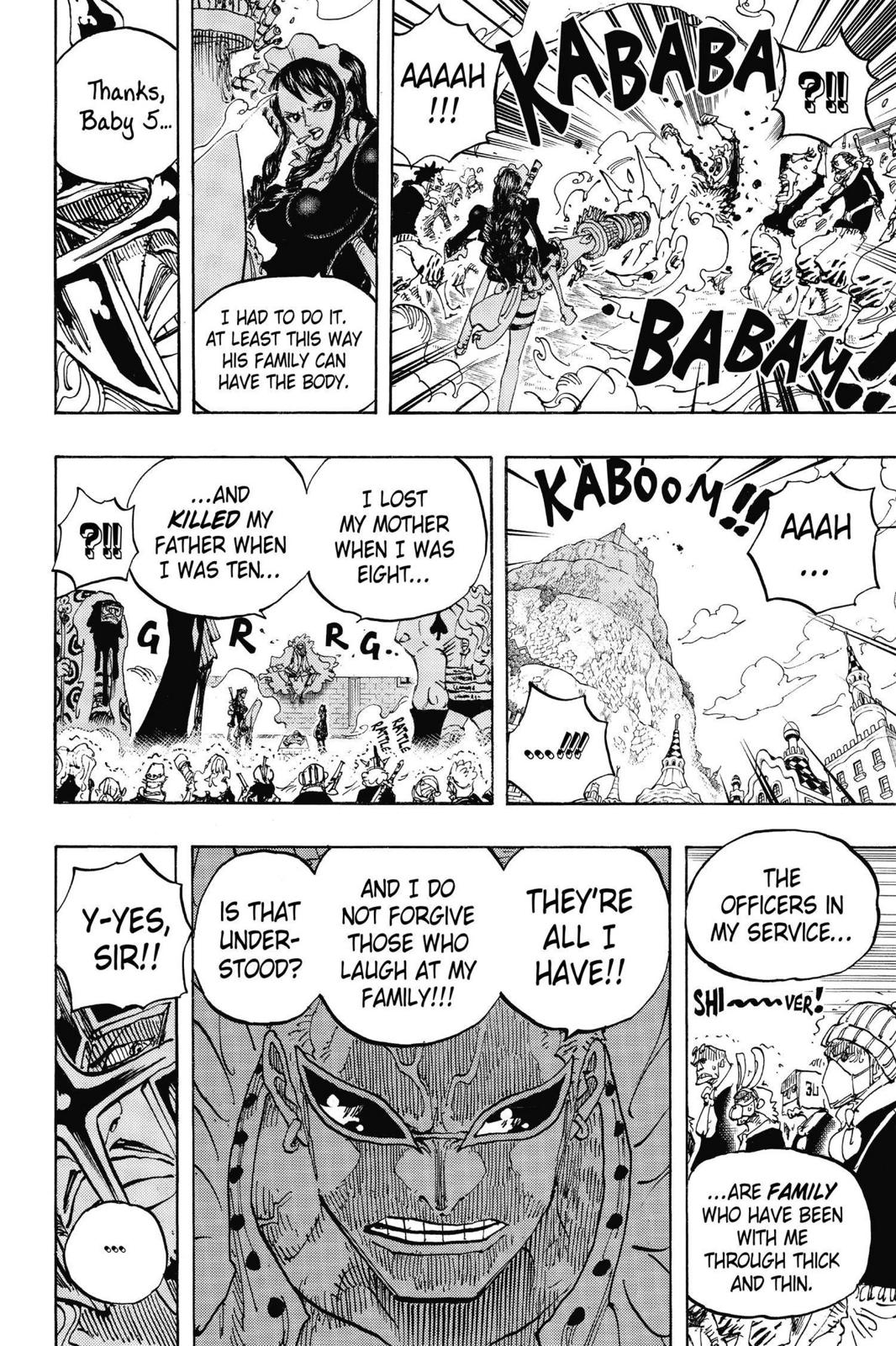 One Piece, Chapter 747 image 009
