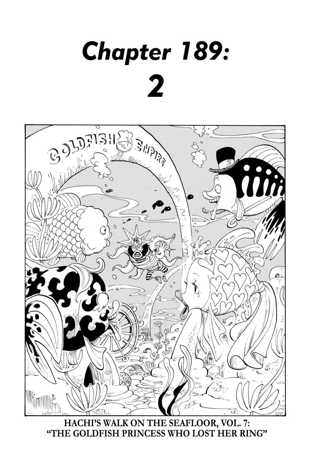 One Piece, Chapter 189 image 001
