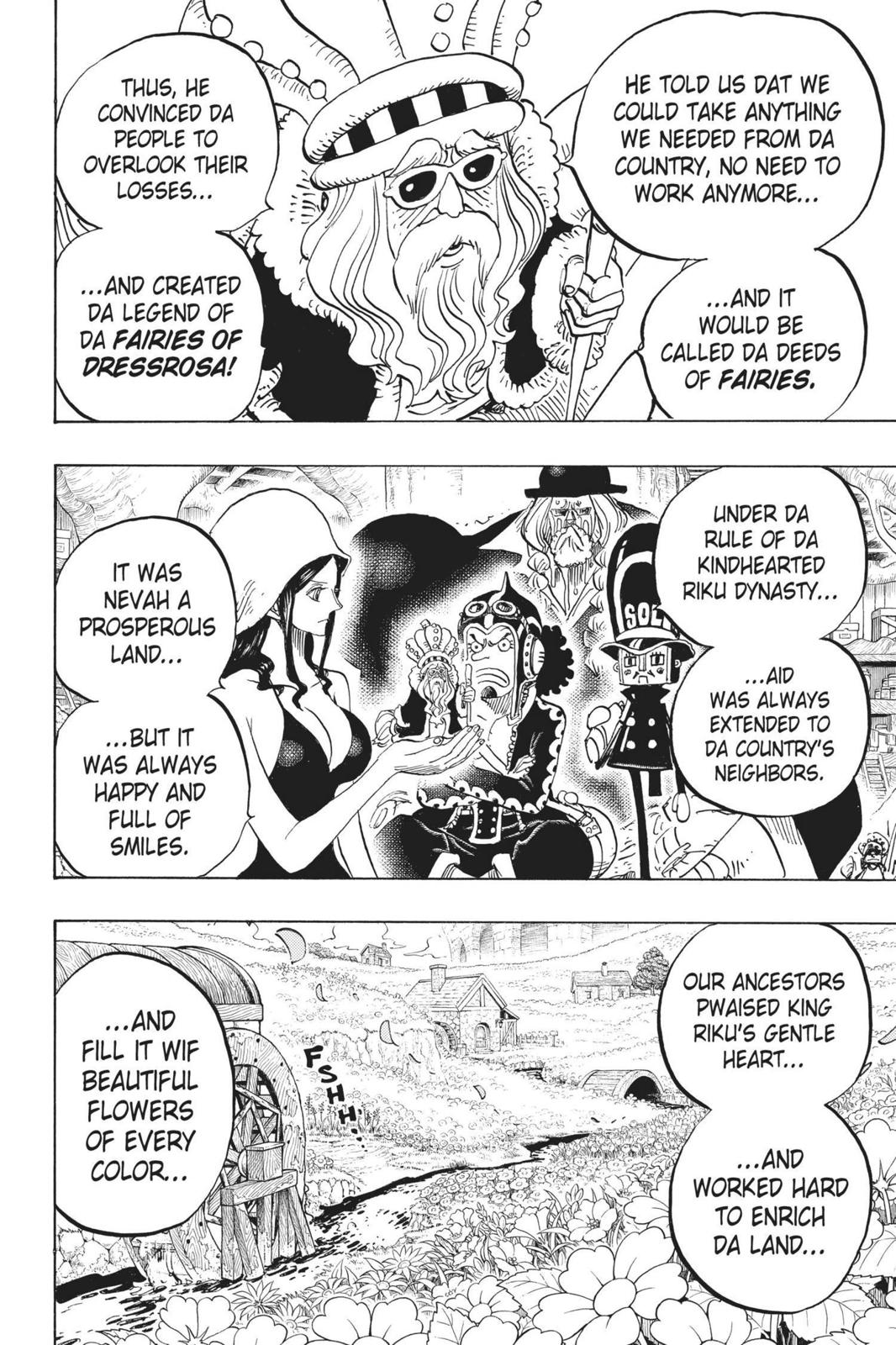 One Piece, Chapter 726 image 016