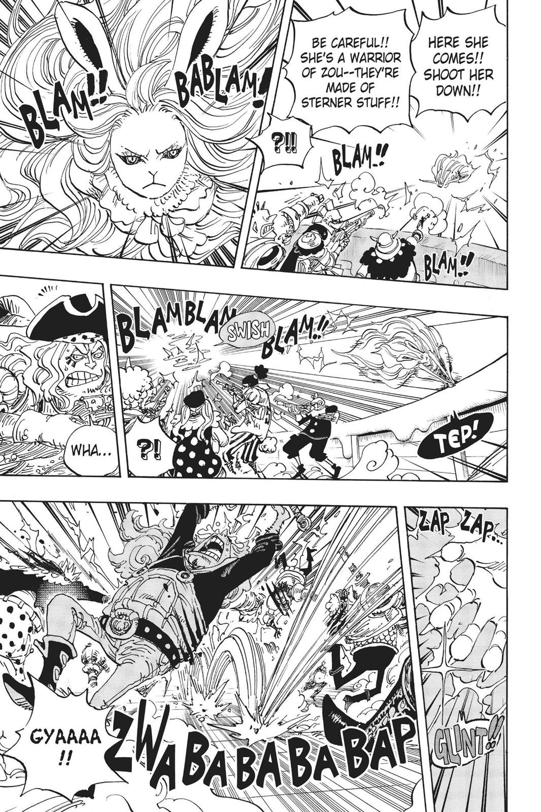 One Piece, Chapter 888 image 013