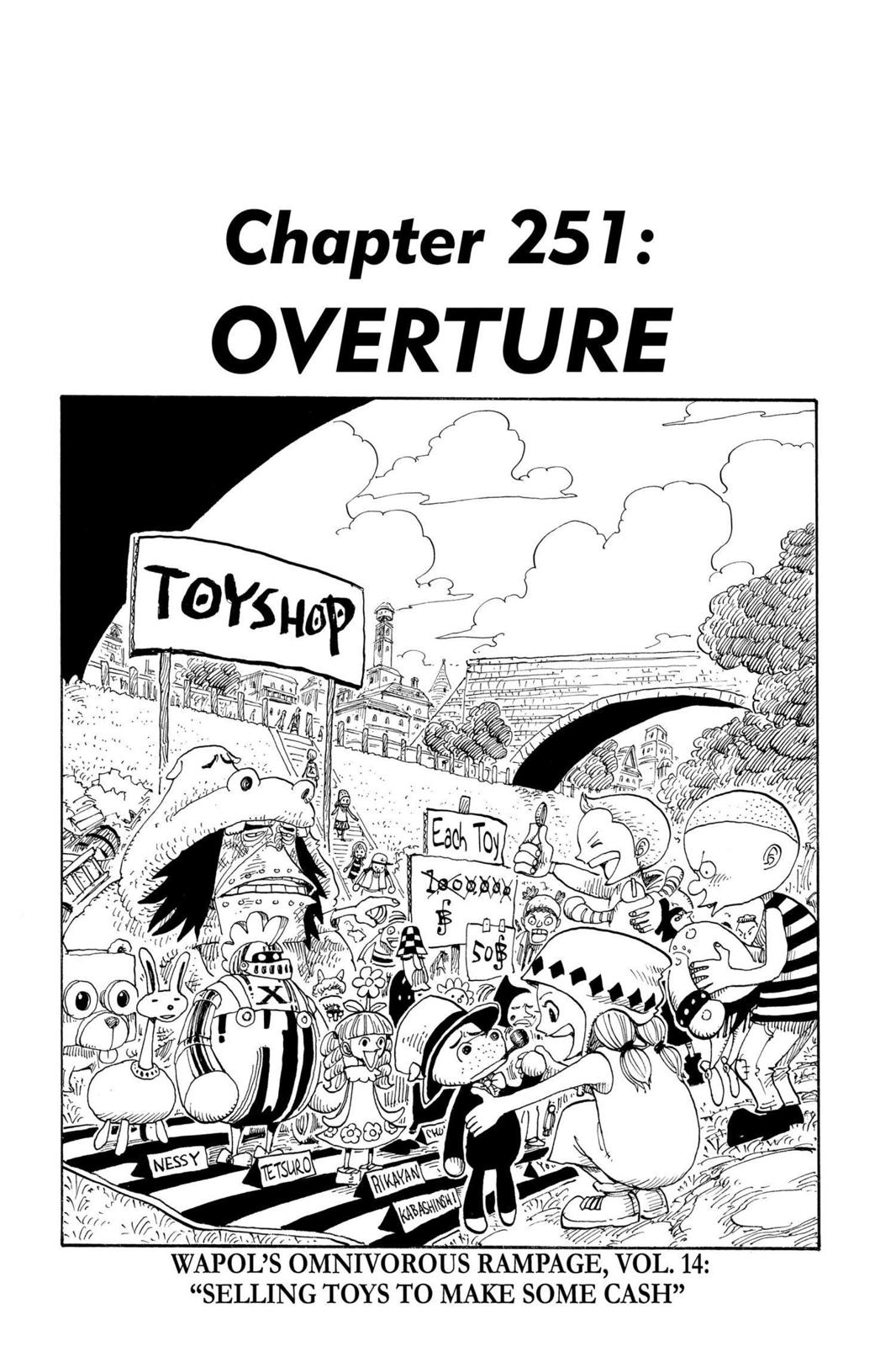 One Piece, Chapter 251 image 001