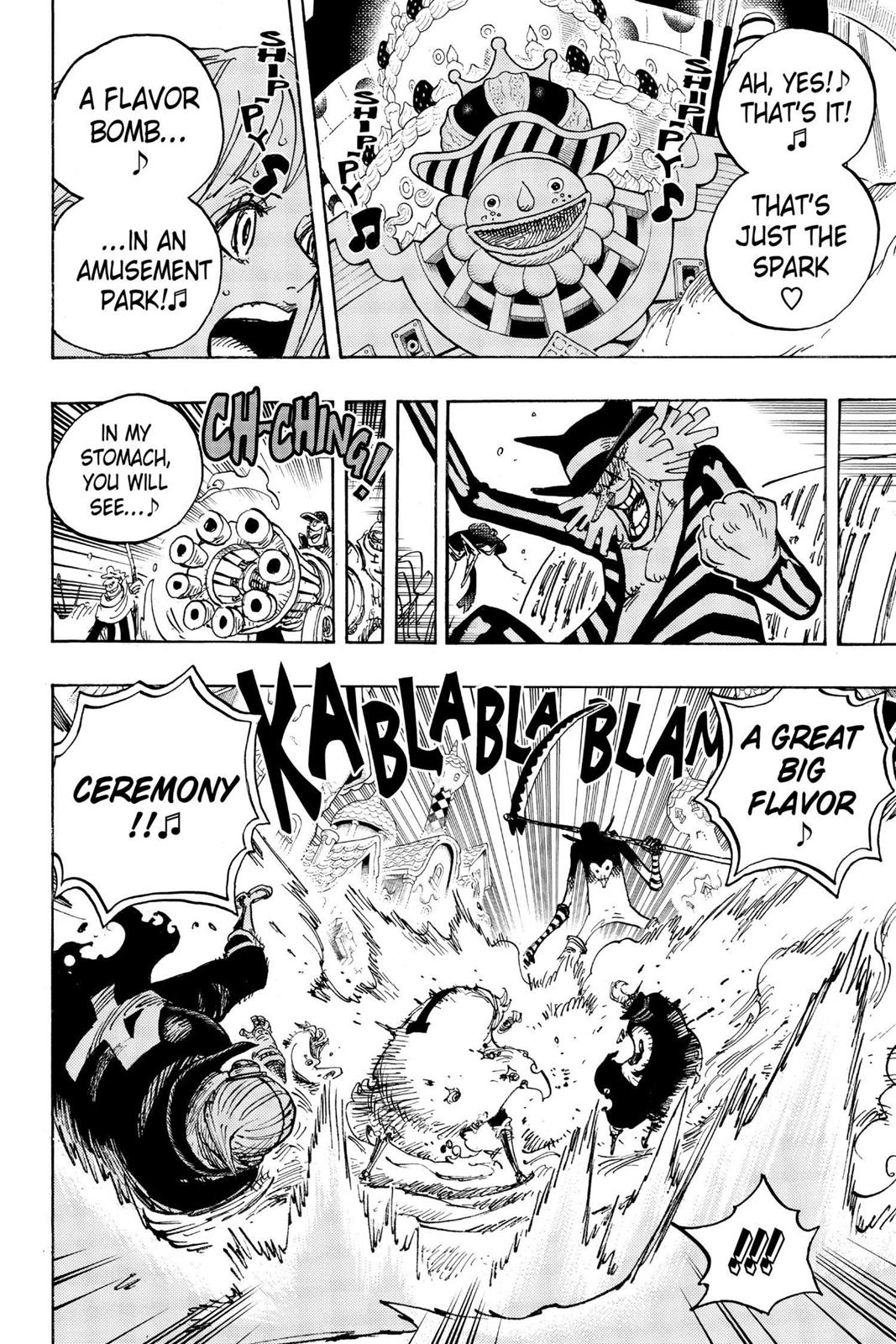One Piece, Chapter 900 image 014