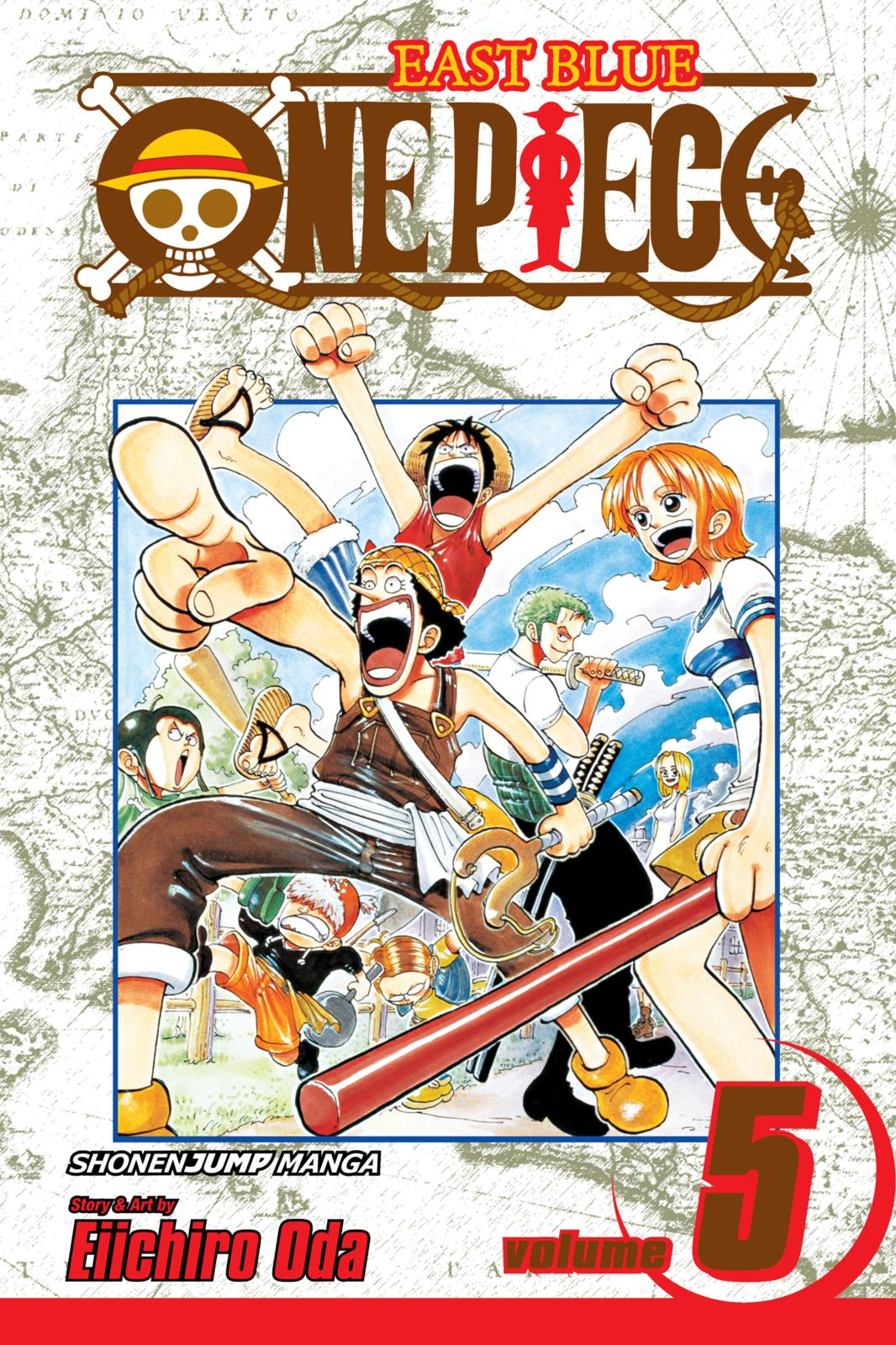 One Piece, Chapter 36 image 001