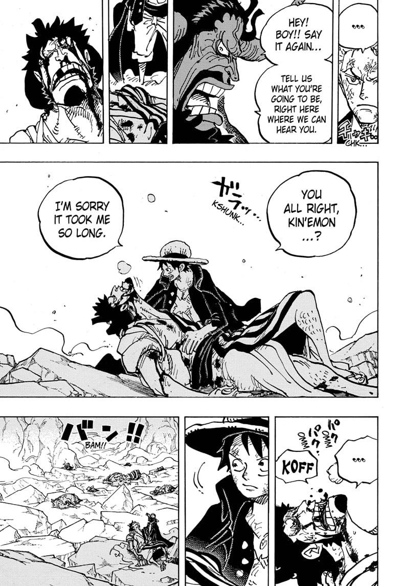 One Piece, Chapter 1000 image 012