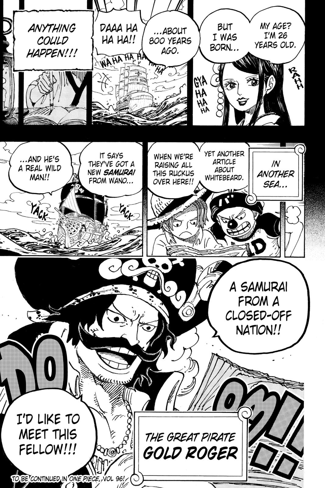 One Piece, Chapter 964 image 017
