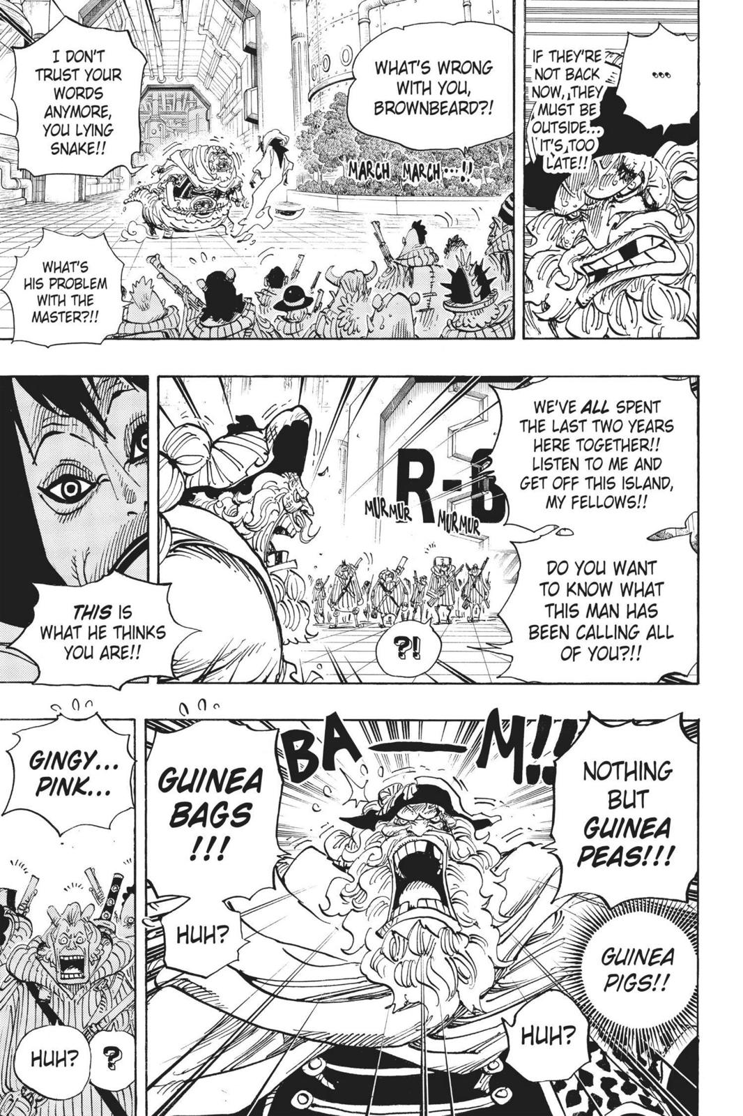 One Piece, Chapter 689 image 005