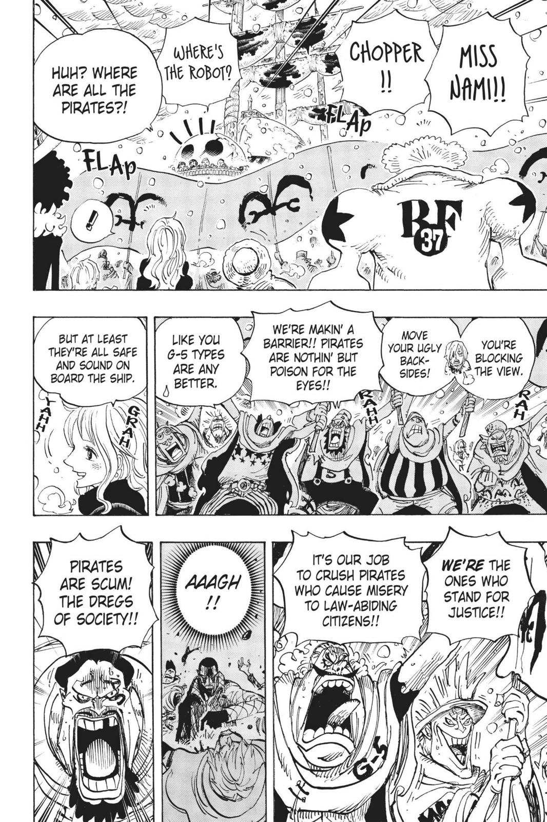 One Piece, Chapter 697 image 006