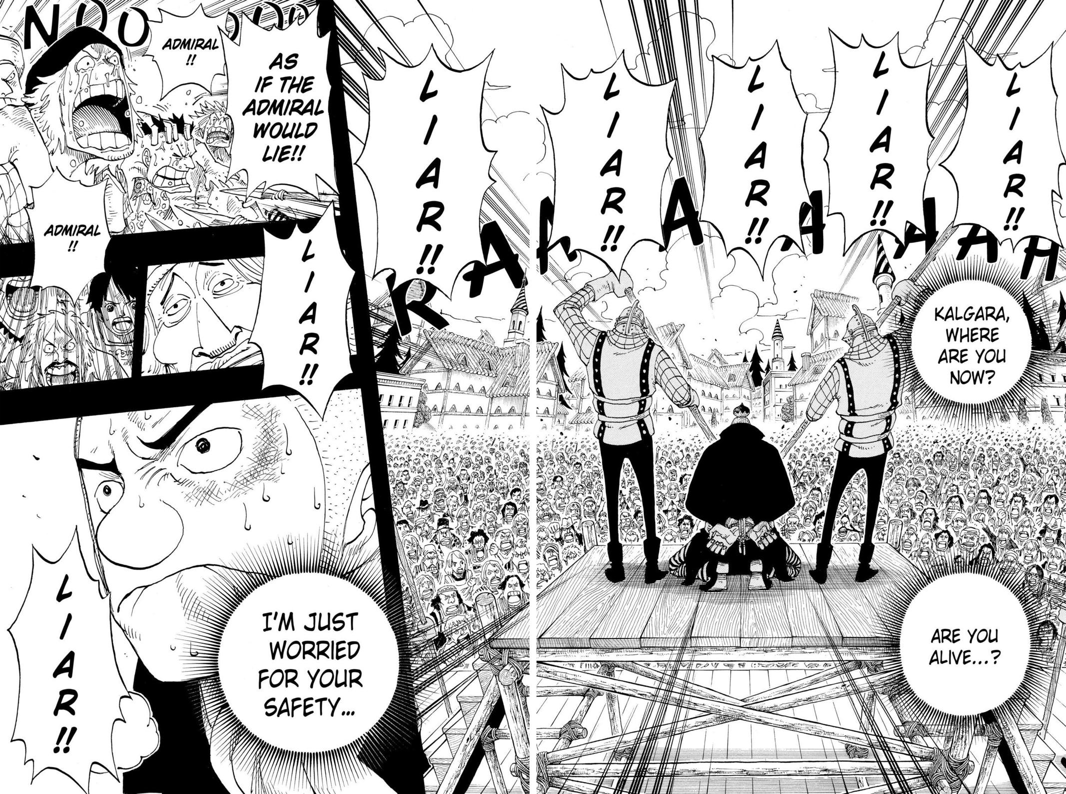 One Piece, Chapter 292 image 010
