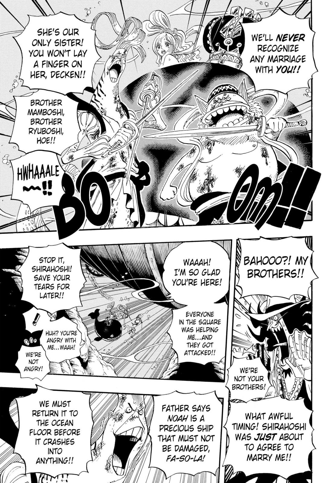 One Piece, Chapter 638 image 013