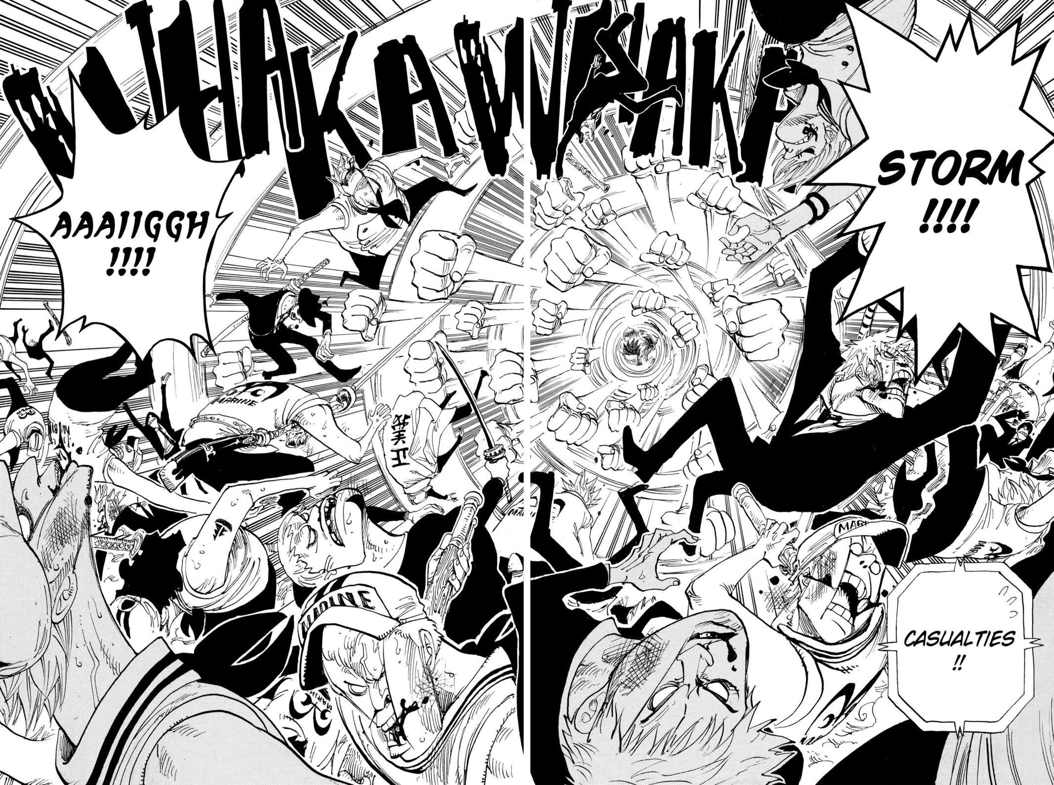 One Piece, Chapter 378 image 018