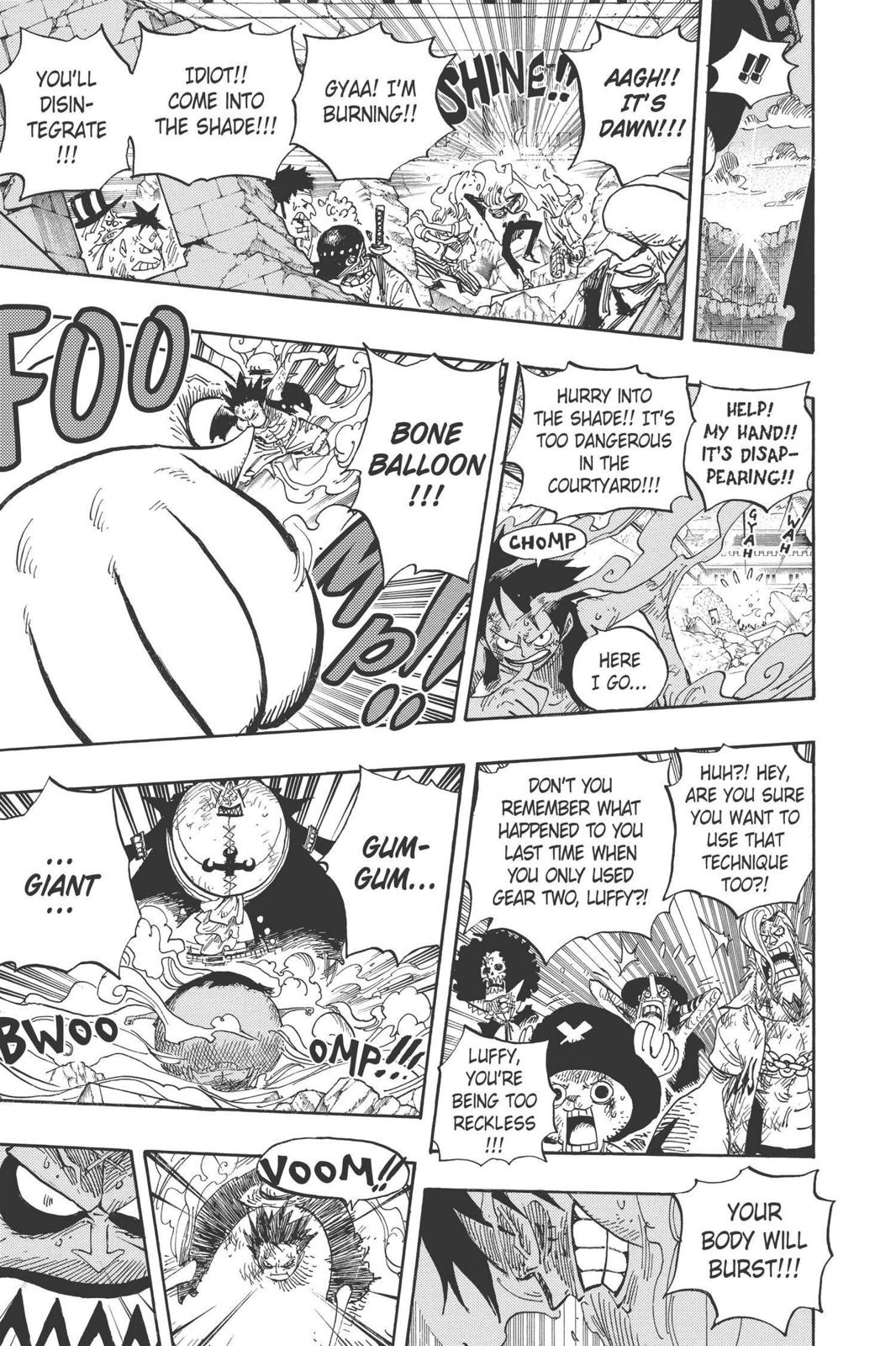 One Piece, Chapter 482 image 018