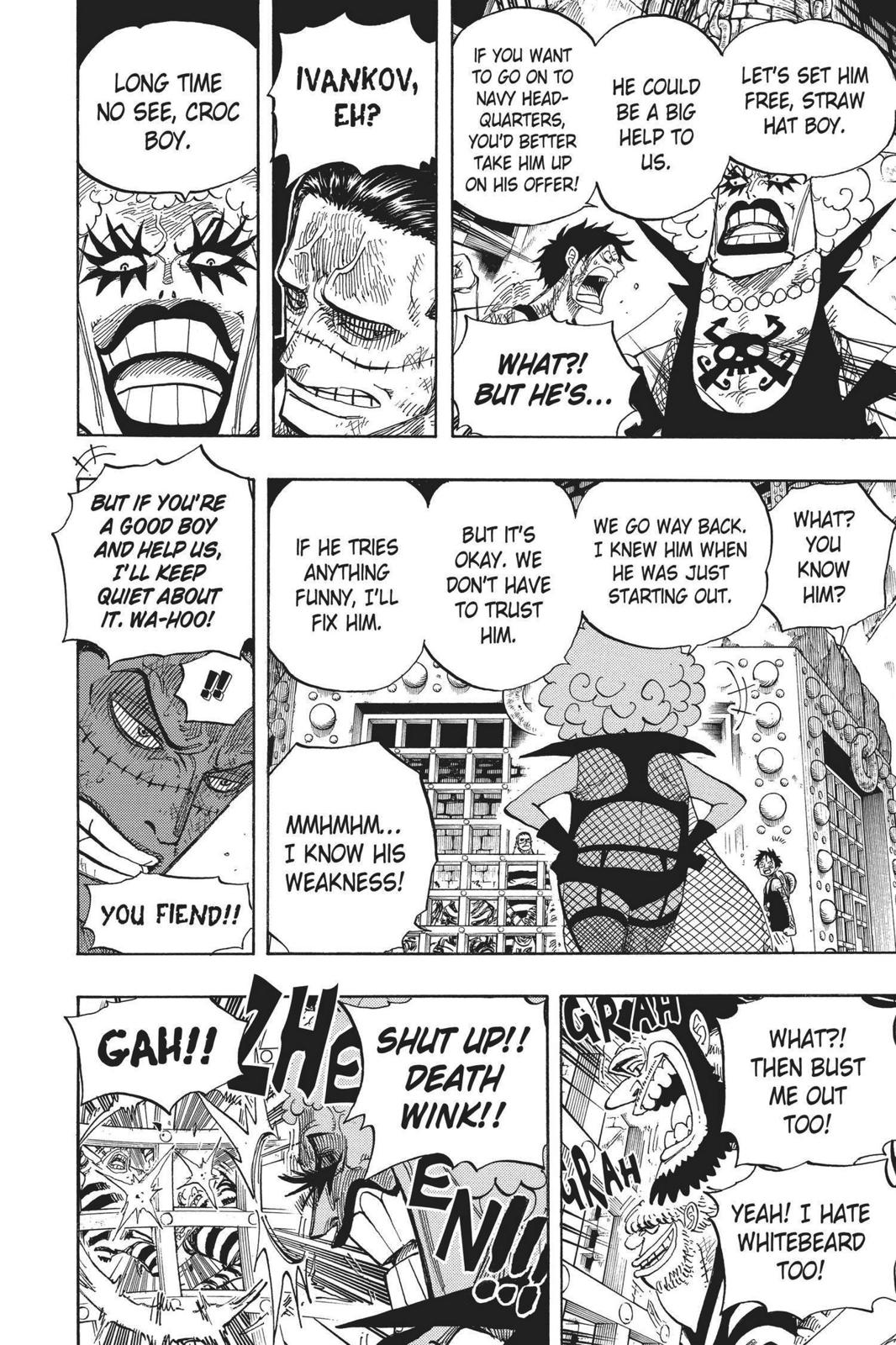 One Piece, Chapter 540 image 015