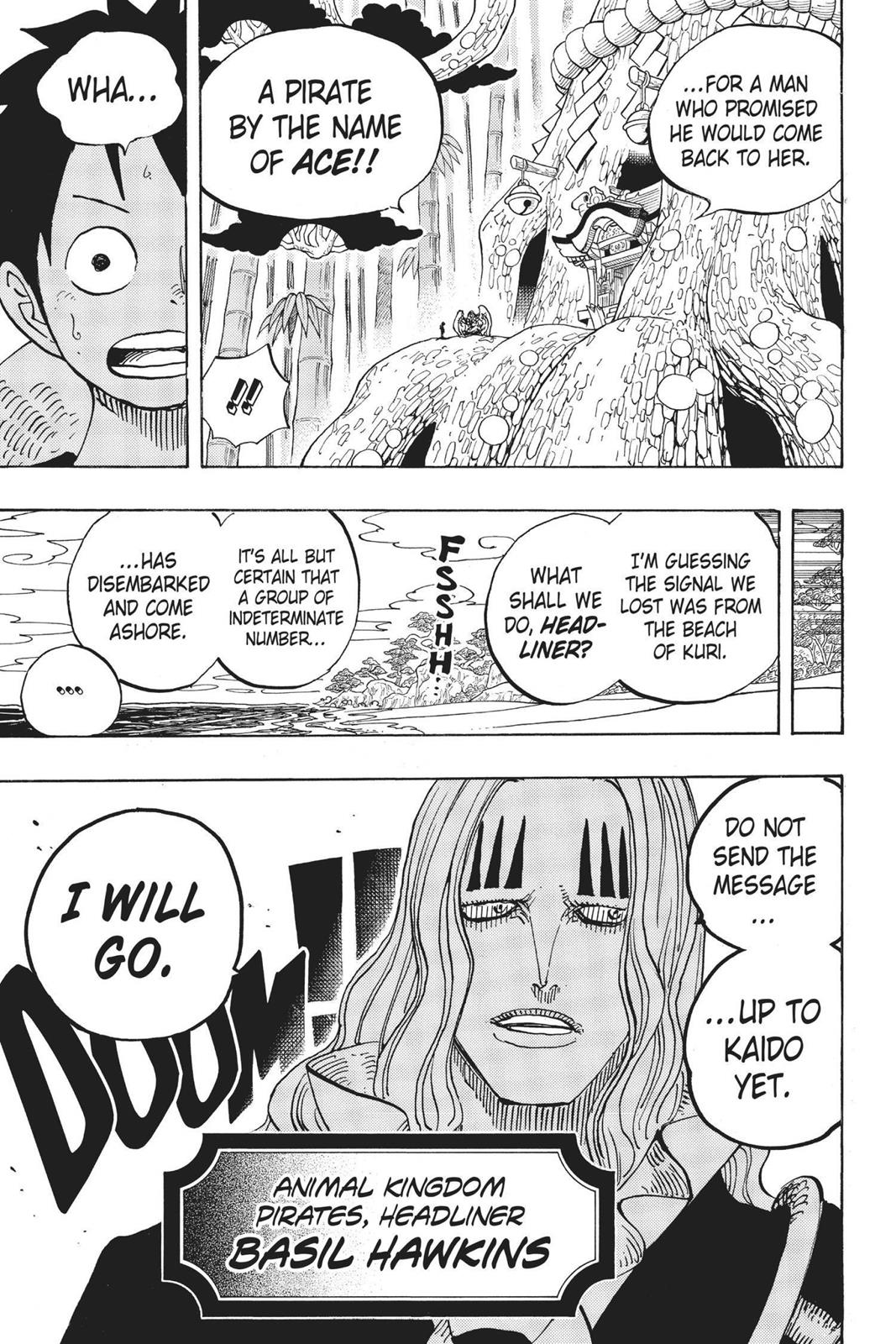 One Piece, Chapter 911 image 025