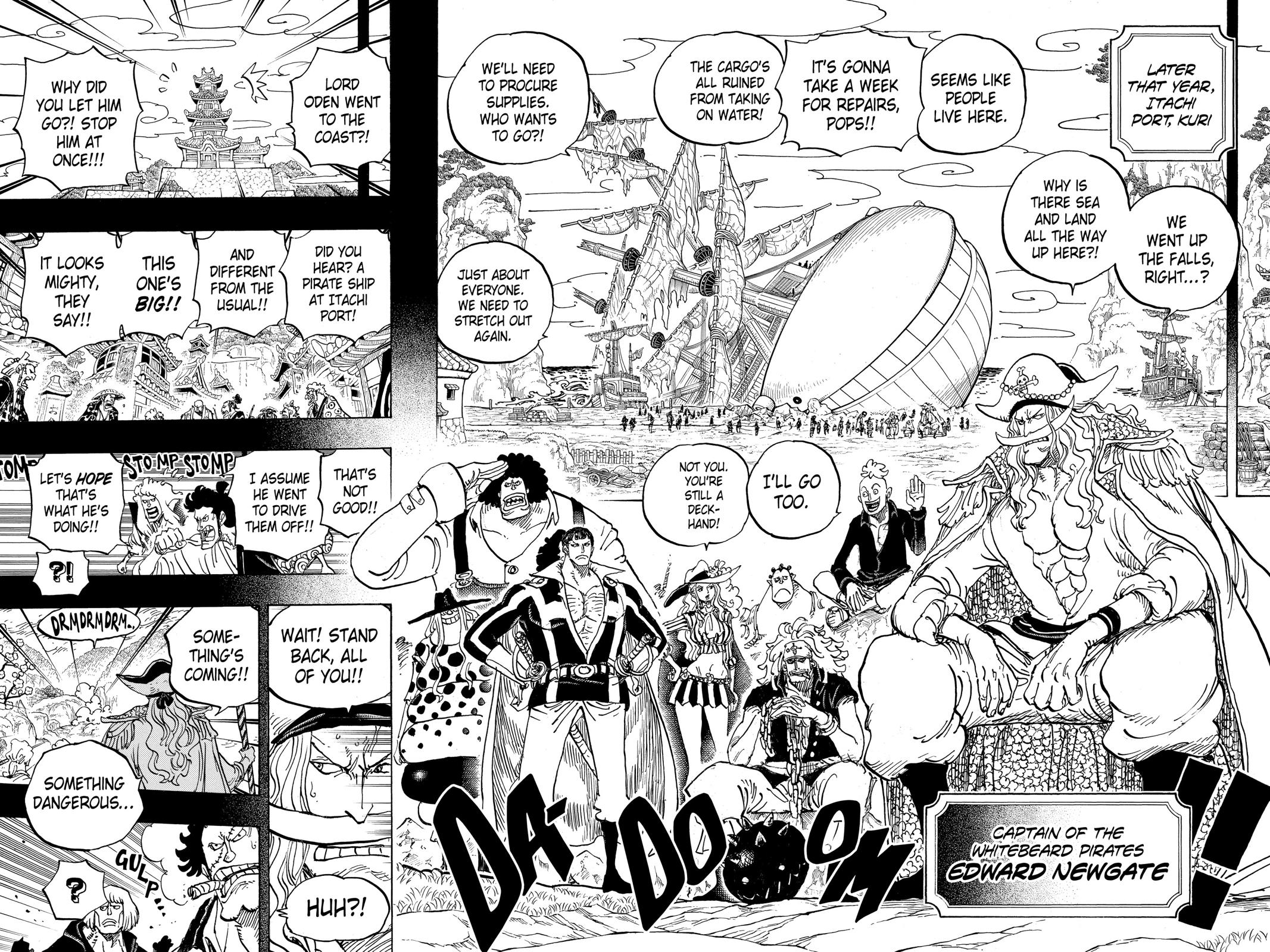 One Piece, Chapter 963 image 013