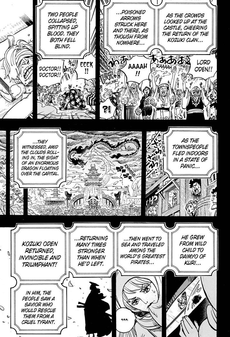One Piece, Chapter 969 image 007