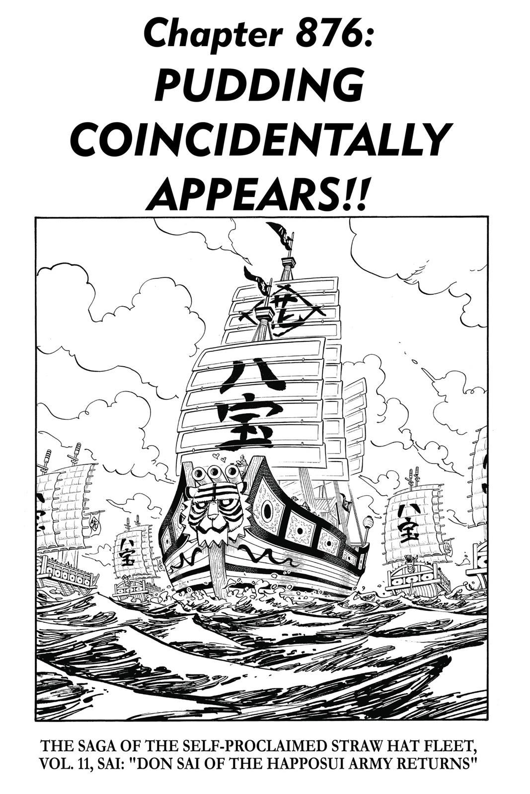 One Piece, Chapter 876 image 001