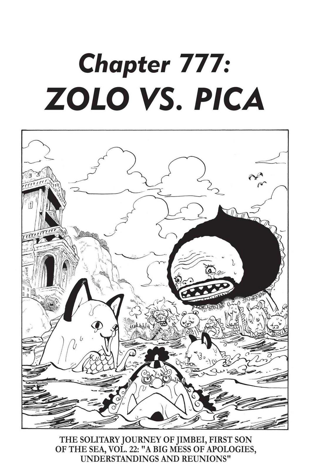 One Piece, Chapter 777 image 001