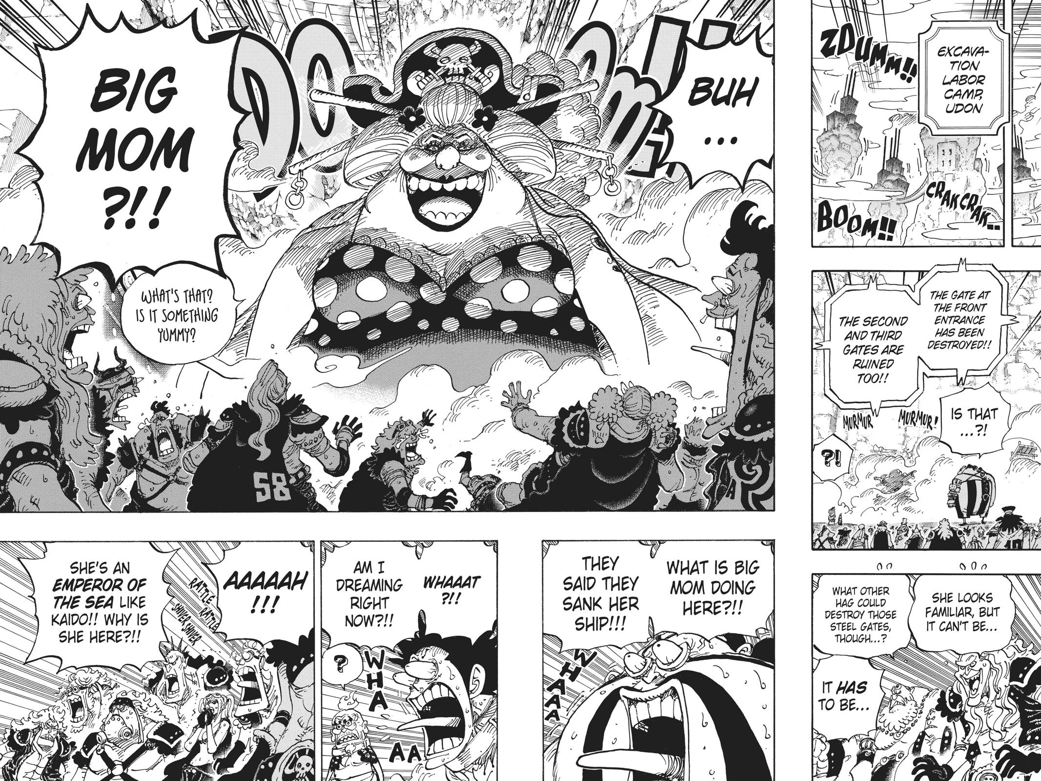 One Piece, Chapter 945 image 013