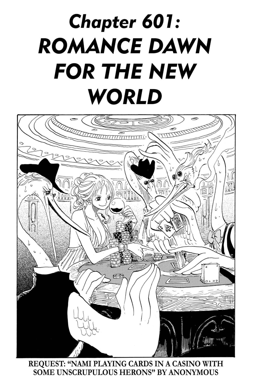 One Piece, Chapter 601 image 001