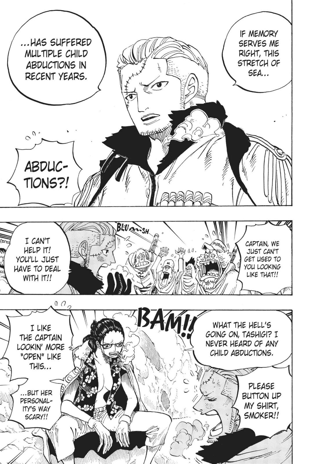 One Piece, Chapter 664 image 003