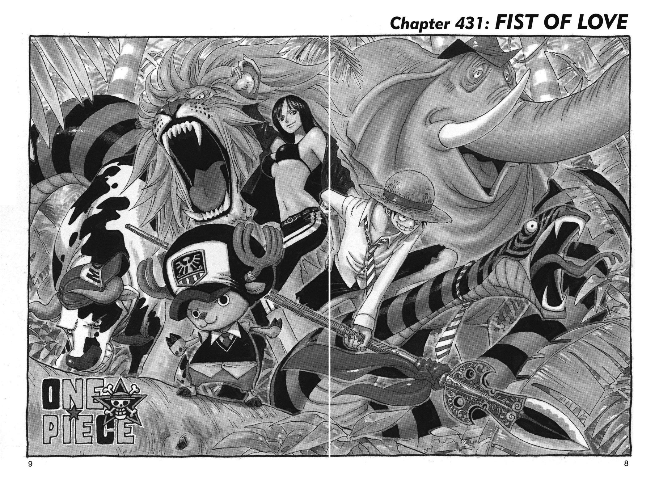 One Piece, Chapter 431 image 008
