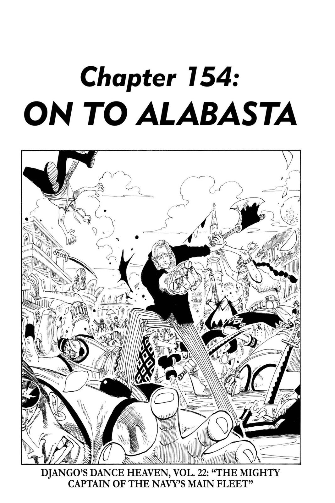 One Piece, Chapter 154 image 001