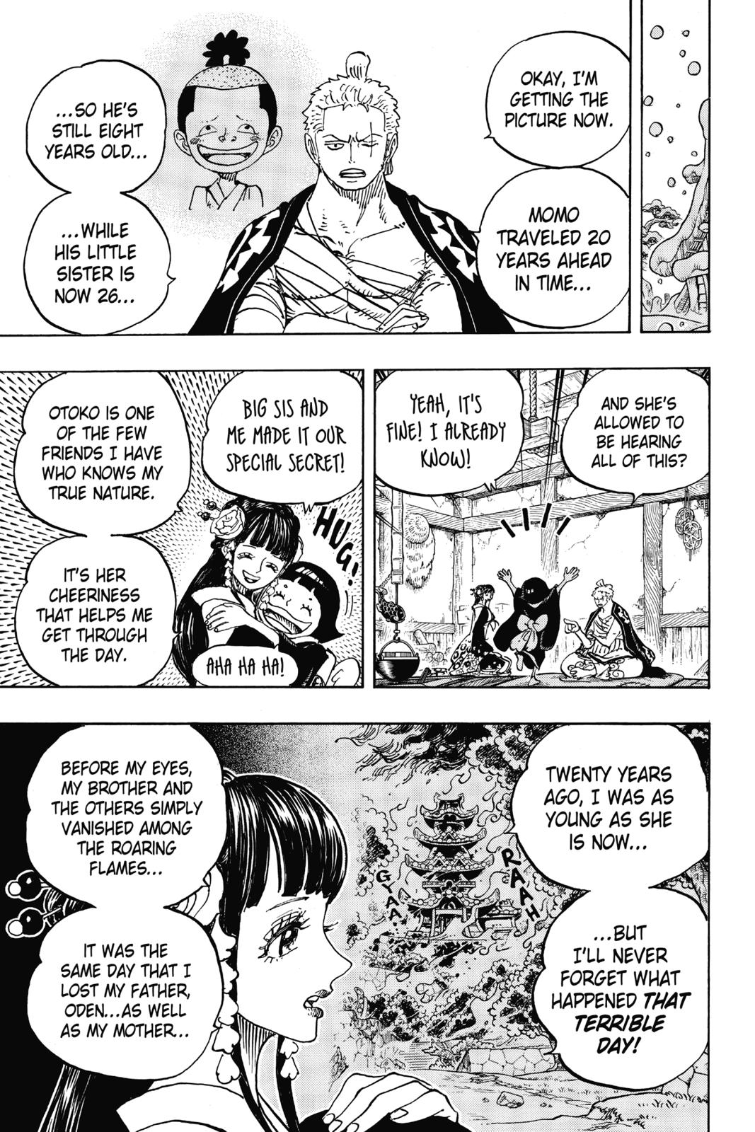 One Piece, Chapter 939 image 003