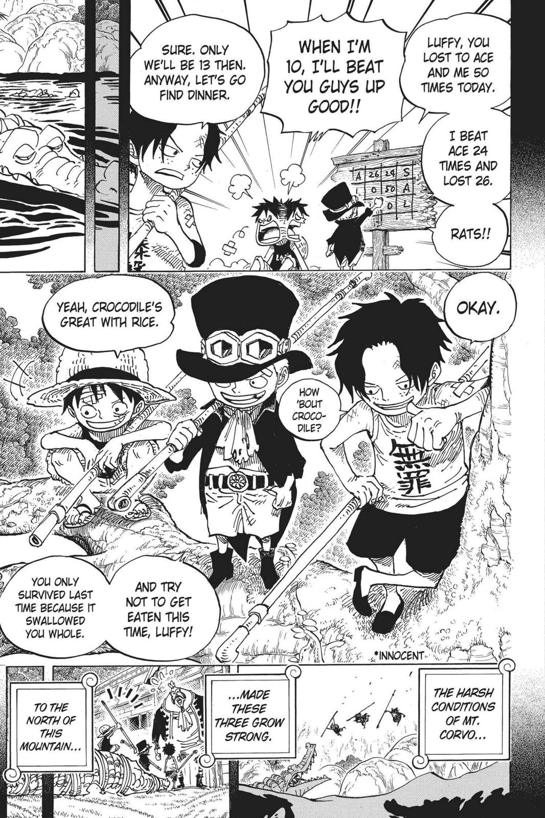 One Piece, Chapter 585 image 009