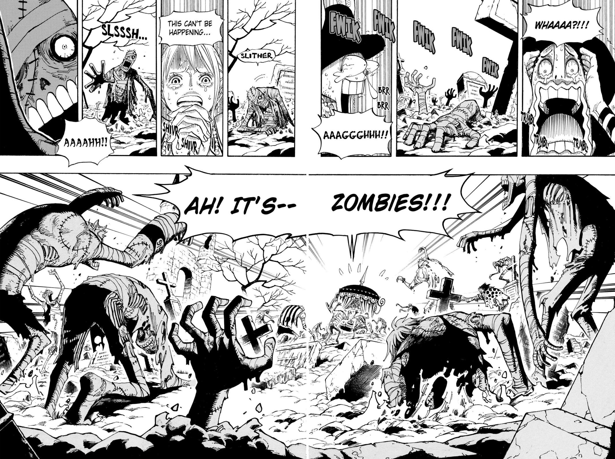 One Piece, Chapter 445 image 011
