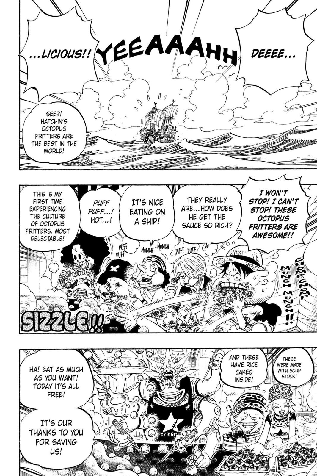 One Piece, Chapter 496 image 002