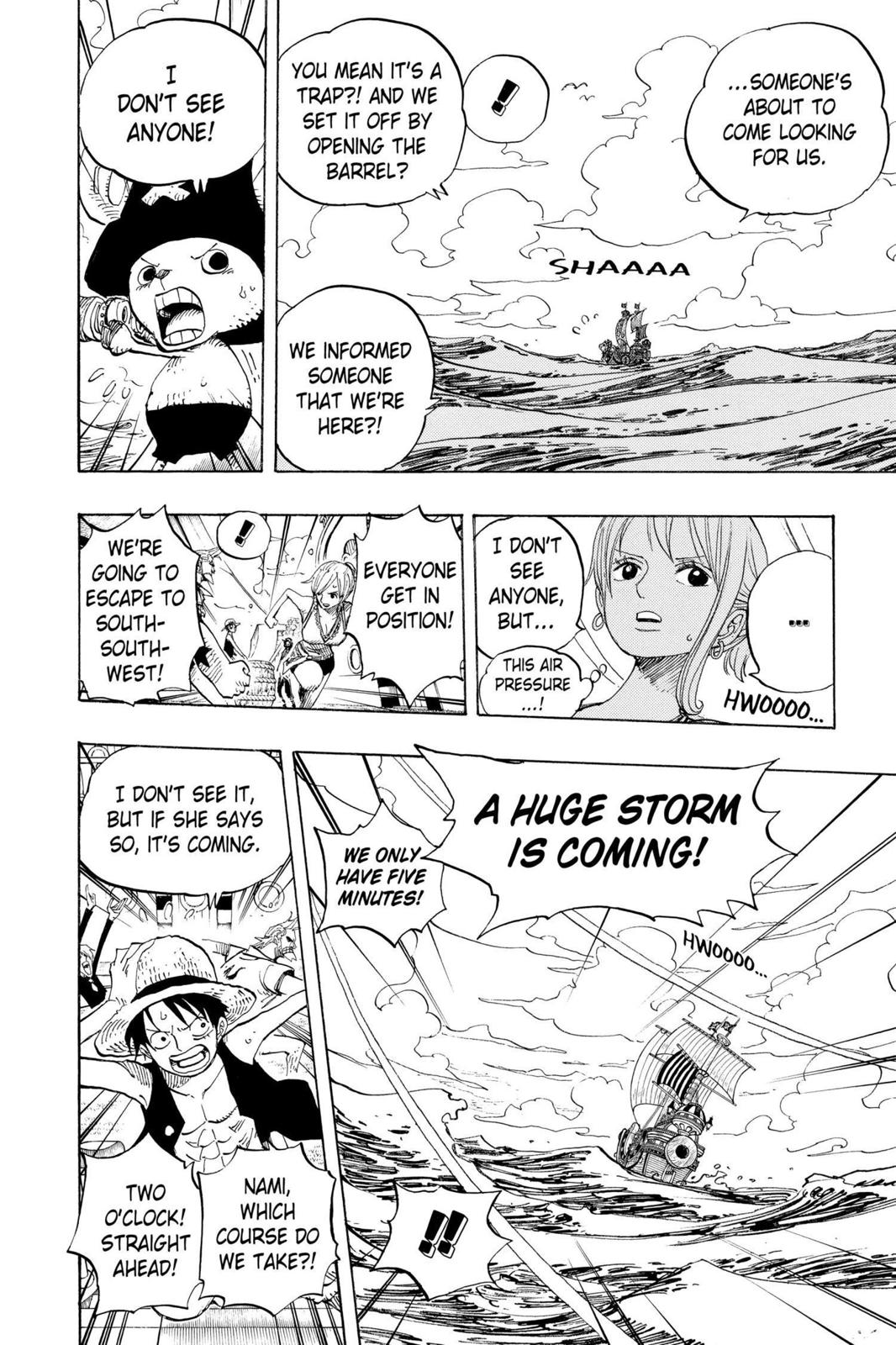 One Piece, Chapter 442 image 008