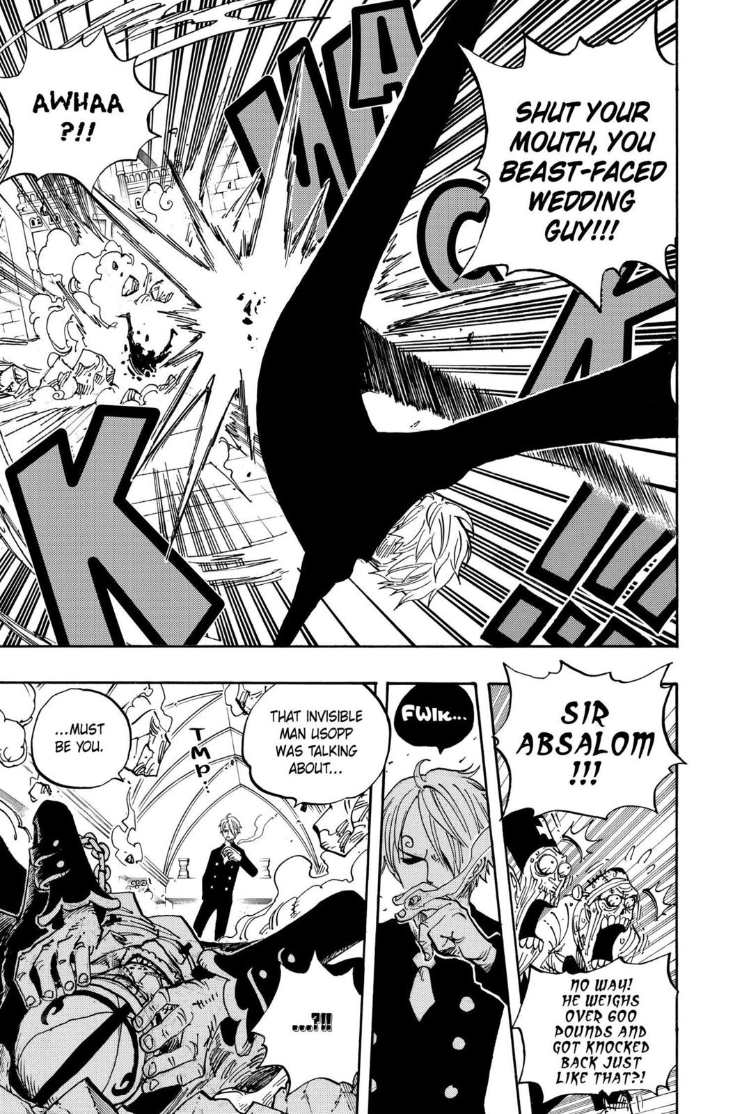 One Piece, Chapter 463 image 015